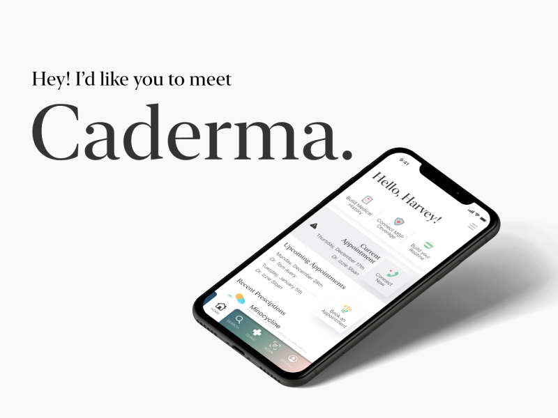 Caderma Marketing Site